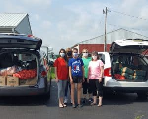 DEA Donates Food to Local Families in Need